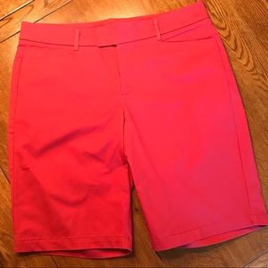 Dockers Red Bermuda Shorts